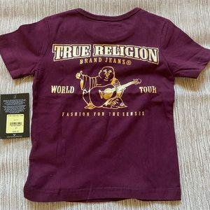 True Religion kids tee